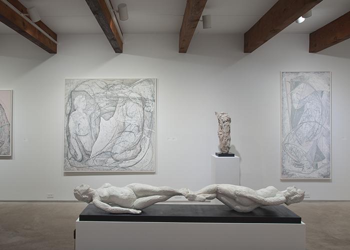 2016, In Medias Res, Valley House Gallery & Sculpture Garden, Dallas, Texas